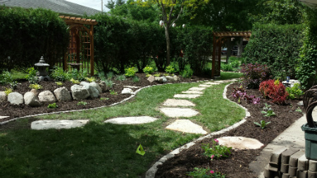 Hathaway tree service landscaping mulch